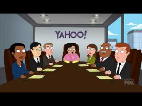 Family Guy S15E19 Yahoo email