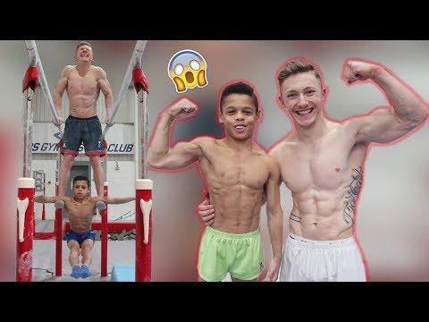 WHO NEEDS WEIGHTS? {Gymnastics Strength Challenge}