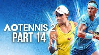 AO TENNIS 2 Career Mode Part 14 - I'M GUTTED