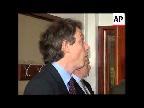 N. IRELAND: TONY BLAIR MAKES FINAL APPEAL FOR A YES VOTE (2)