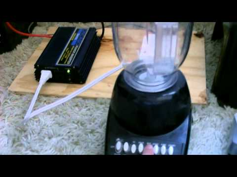 Solar Powered small Kitchen Appliances - powered by DIY solar power system - easy to make