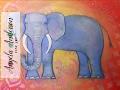 Mandala Elephant Acrylic Painting Tutorial   How to Paint & Draw   Full Lesson