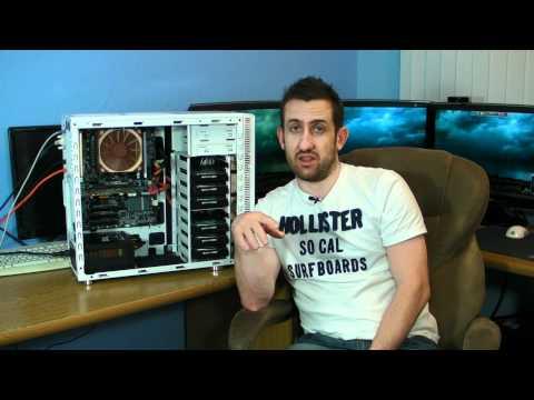 TTL Home Server Build Complete - Server 2008 R2 i3 2120 Adaptec 51245 RAID Card
