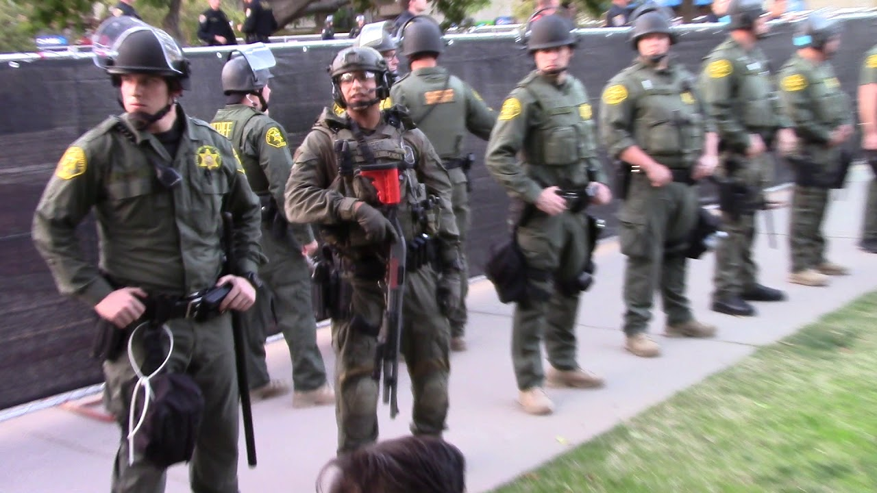 Joe Imbriano-The police state comes to Cal State Fullerton part 1