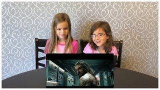 Aquaman Trailer KIDS Reaction - SDCC 2018