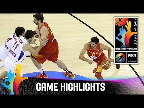 Serbia v Spain - Game Highlights - Group A - 2014 FIBA Basketball World Cup