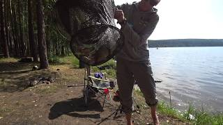 Хороший клев на новом водоеме. Рыбалка на водохранилище фидер