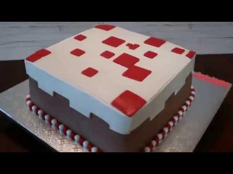 Minecraft Cake Minecraft Cake Ideas Diy How To Minecraft