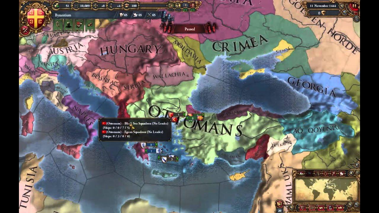 Europa Universalis IV - Byzantine Start Guide [1.14 ...