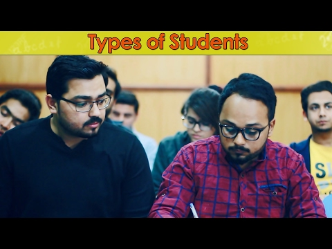 Types of Students | The Idiotz | Funny
