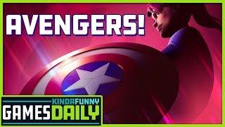 Fortnite x Avengers - Kinda Funny Games Daily 04.22.19