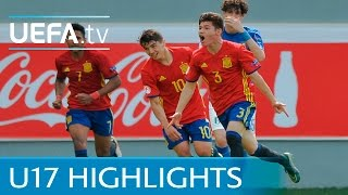 UEFA Under-17 highlights: Spain 4-2 Italy