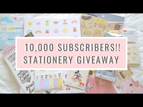 Stationery Giveaway!
