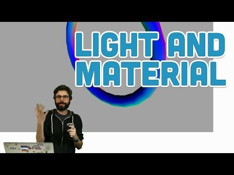 18.3: Light and Material - WebGL and p5.js Tutorial