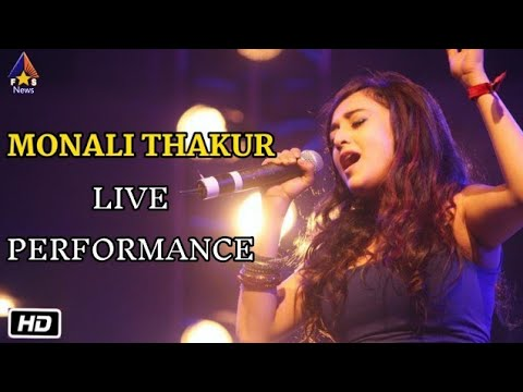 Monali Thakur Live Performance | Singing Her New Song O Re Naseeba