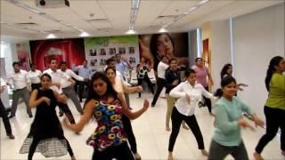 delhi dance academy s bollywood workshop at oriflame india pvt ltd