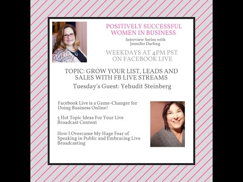 Positively Successful Women In Business Yehudit Steinberg