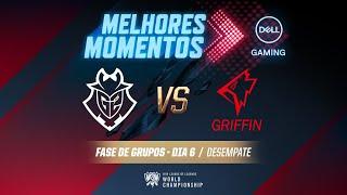Mundial 2019: Fase de Grupos - Dia 6 | Melhores Momentos G2 x GRF (Desempate) (By Dell Gaming)