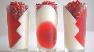 Низкокалорийный йогуртовый десерт. Оригинально, вкусно, нарядно