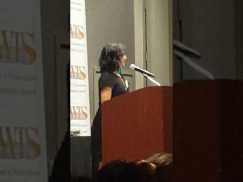 Ashley, My Treasure Award Speech