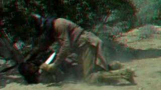 3D Fight Scene from Taza, Son of Cochise
