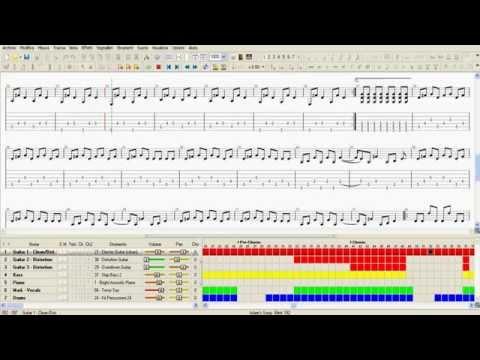 Blink 182 - Adam's Song / Guitar Tab HD