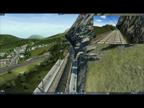 Transport Fever : Gothard Pass (from Bellinzona to Altdorf via Pass of St-Gothard)