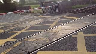Level Crossing XG 014 Ireland - Dublin Train