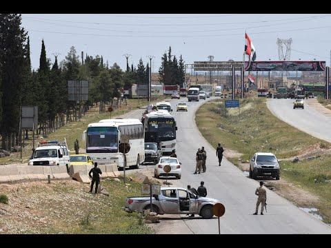 المرصد: خروج دفعة ثانية من مقاتلي داعش من جنوب دمشق