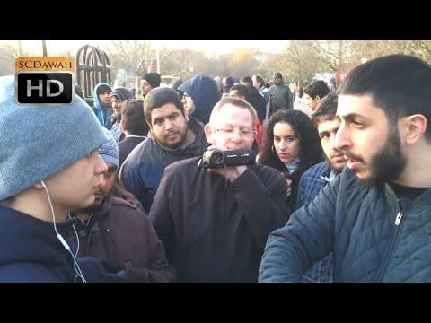 Lifes a Video Game! Ali Dawah Vs Atheist | Speakers Corner | Hyde Park