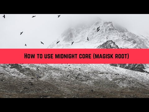 How to use midnight core | Change Boot animation and font in android (Root)