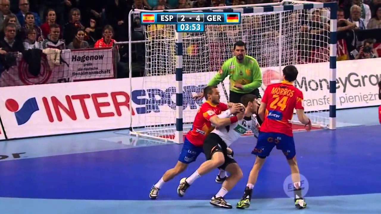 Handball EM: Die Top 5 Tore der Partie Spanien Deutschland | Sportschau