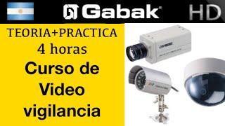 Curso de Video camaras de seguridad Vigilancia IP y CCTV  (analogica y digital)