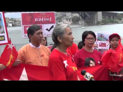2015 myanmar election  Time to Change Gathering  Sydney 08112015