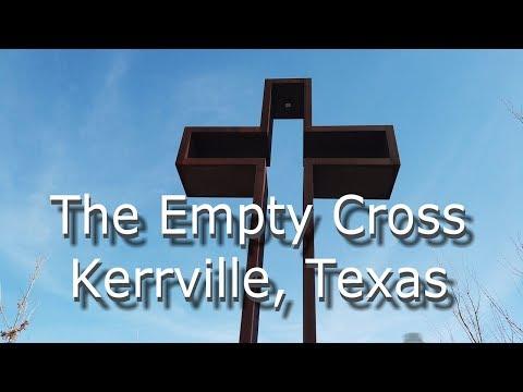 The Empty Cross In Kerrville, Texas In 4K Video