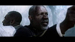 Колдун  Уолтер О'Дим убивает напарника стрелка Роланда Дискейна. Тёмная башня 2017г.