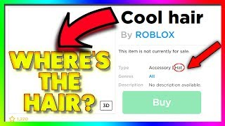 they won't fix these BROKEN roblox items...