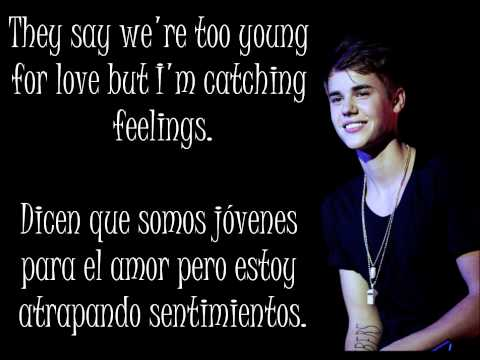 Justin Bieber - Catching feelings {Inglés-Español}