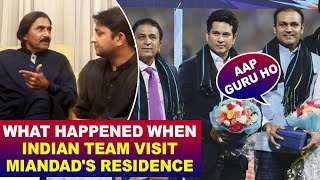 Inside Story: What happened when Indian Team Visit Miandad's residence | Part 3