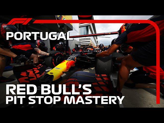 Red Bull's 1.86s Mega Stop | DHL Fastest Pit Stop | 2020 Portuguese Grand Prix | DHL