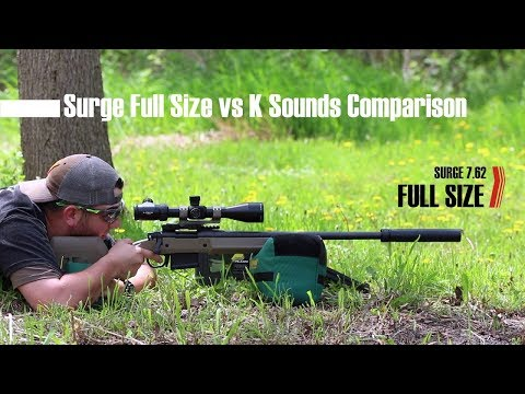 First Shots on the Rugged Suppressors Surge 7.62 with .308 and 300 Blackout Subsonic