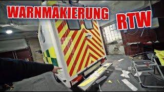 Warnmakierung am RTW 🚑 🚒 | ItsMarvin