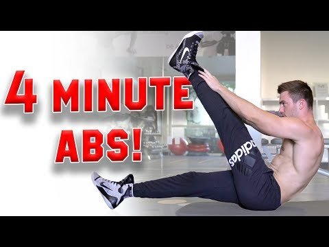 4 Minute Abs for a Ripped Six Pack