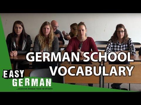 German School Vocabulary | Easy German 153
