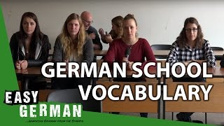 German School Vocabulary | Easy German 153
