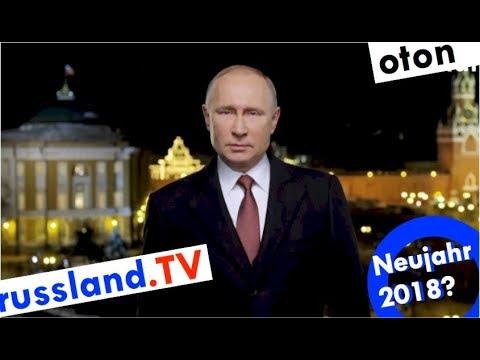 Putins Neujahrsansprache 2018 auf deutsch