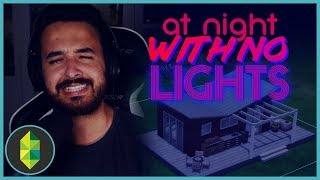 AT NIGHT WITH NO LIGHTS Build Challenge | The Sims 4