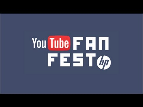 Day 2 YouTube FanFest powered by HP Tuesday 21st May 2013