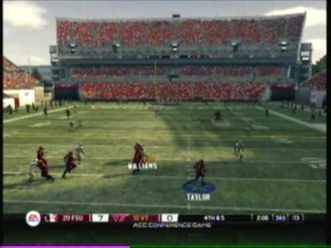 NCAA 2010 - Online #15 - Virginia Tech (Yoshi) vs. Florida State (I AM CHOZEN)