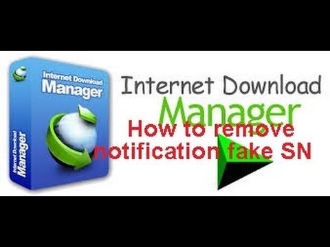 remove fake serial number internet manager